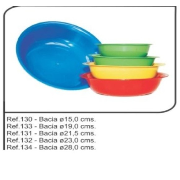 BACIA 19 CM (REF.133)   /32 MEGAPLAST