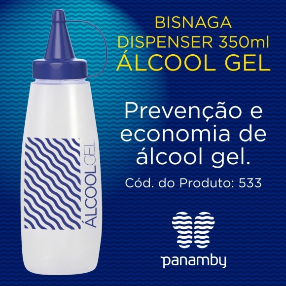 BISNAGA DISPENSER (ALCOOL GEL) 342217 PANAMBY
